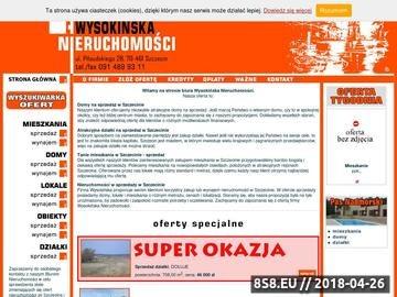 Zrzut strony Mieszkania Szczecin sprzedaż