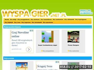 Zrzut strony Wyspa Gier - Darmowe gry on-line.