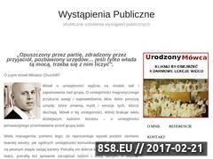 Miniaturka domeny wystapieniapubliczne.eu