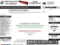 Thumbnail of Wyświetlacze led, tablice led, led baner - sklep Website