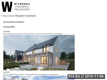 Zrzut strony Projekty domów jednorodzinnych