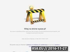 Miniaturka domeny www.wywar.pl