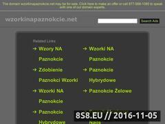 Miniaturka domeny wzorkinapaznokcie.net