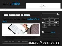 Miniaturka domeny wzoryumow.org.pl