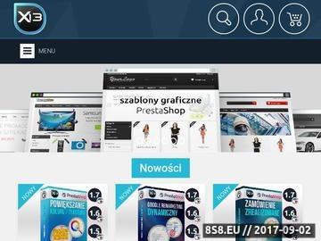 Zrzut strony Centrum PrestaShop - X13.pl