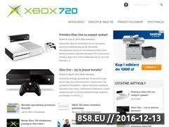 Miniaturka domeny xbox720.com.pl