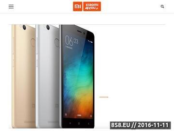 Zrzut strony Xiaomi4you - Xiaomi