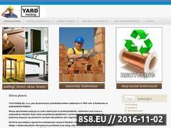 Miniaturka domeny www.yard.pl