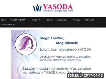 Zrzut strony Salon kosmetyczny Opole