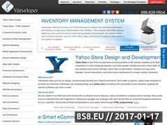 Design and develop a Yahoo Store from Ydeveloper Website