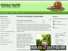 Miniaturka domeny yerba-mate.org