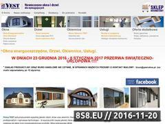 Miniaturka domeny www.yest-okna.pl