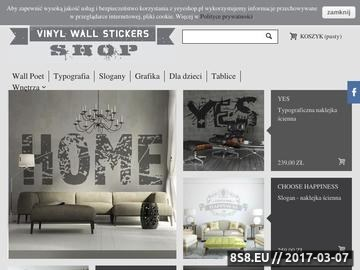 Zrzut strony YeYe Shop Vinyl Wall Stickers