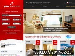 Miniaturka domeny www.yourapartments.pl
