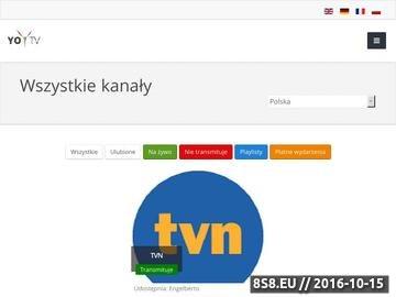 Zrzut strony Telewizja internetowa