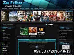 Miniaturka domeny www.za-friko.com