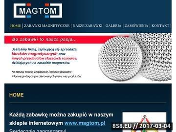 Zrzut strony Klocki i zabawki magnetyczne kompatybilne z Geomag - klocki magnesy neodymowe