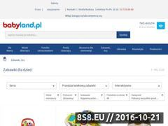Miniaturka domeny www.zabawki-szkrabolandia.pl