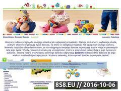 Miniaturka domeny www.zabawki.info.pl