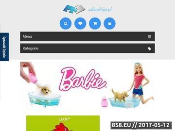 Zrzut strony Sklep z zabawkami