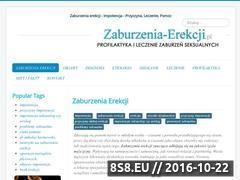 Miniaturka domeny zaburzenia-erekcji.pl