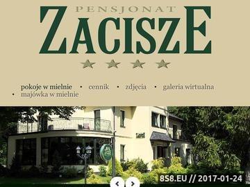Zrzut strony Pensjonat w Mielnie - Zacisze