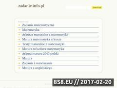 Miniaturka domeny zadanie.info.pl