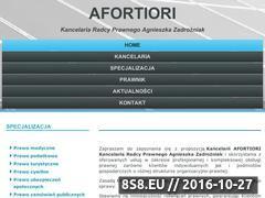 Miniaturka domeny zadrozniak.com.pl