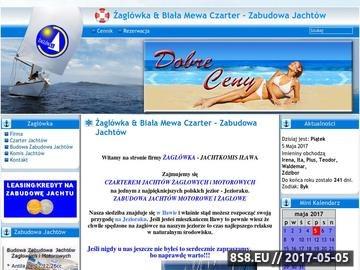 Zrzut strony Zabudowa, sprzedaż, czarter i budowa jachtów Tes 678, Antila 24, Calipso 750 i Laguna