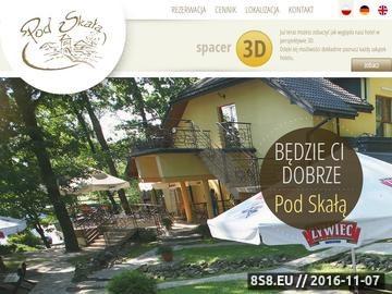 Zrzut strony Hotel - restauracja - Jasło