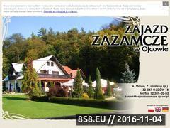 Miniaturka domeny www.zajazdzazamcze.ojcow.pl
