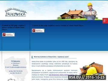 Zrzut strony Firma Handlowa Zajkowska BiałYstok