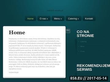 Zrzut strony Zakątek Smaku - kameralne przyjęcia Płońsk
