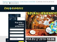 Miniaturka domeny zakexpress.com.pl