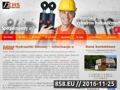 Miniaturka domeny www.zakladhydraulikisilowej.pl
