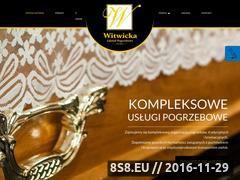 Miniaturka domeny www.zakladpogrzebowy24.pl