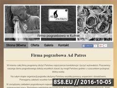 Miniaturka domeny www.zakladpogrzebowykutno.pl