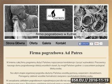 Zrzut strony Zakład pogrzebowy Kutno