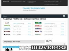 Miniaturka domeny zaklady-bukmacherskie-online.pl