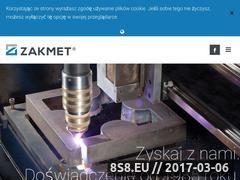 Miniaturka domeny zakmet.pl