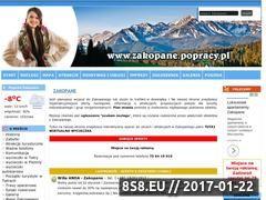 Miniaturka domeny www.zakopane.popracy.pl