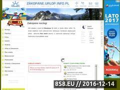 Miniaturka domeny www.zakopane.urlop.info.pl