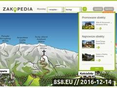 Thumbnail of Zakopedia.pl - noclegi Zakopane Website