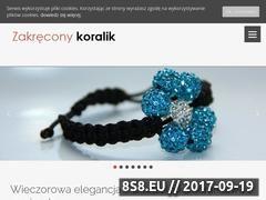 Miniaturka domeny www.zakreconykoralik.pl