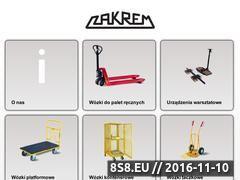 Miniaturka domeny www.zakrem.pl