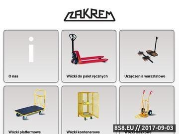 Zrzut strony Zakrem - zestawy transportowe