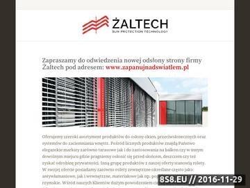 Zrzut strony Markizy Kraków