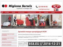 Miniaturka domeny zamiatarki-rcm.pl