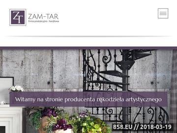 Zrzut strony Producent Rękodzieła Artystycznego - F.P.H ZAM-TAR