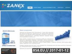 Miniaturka domeny www.zanex.net.pl